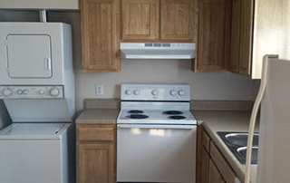 2 BR Townhome Kitchen