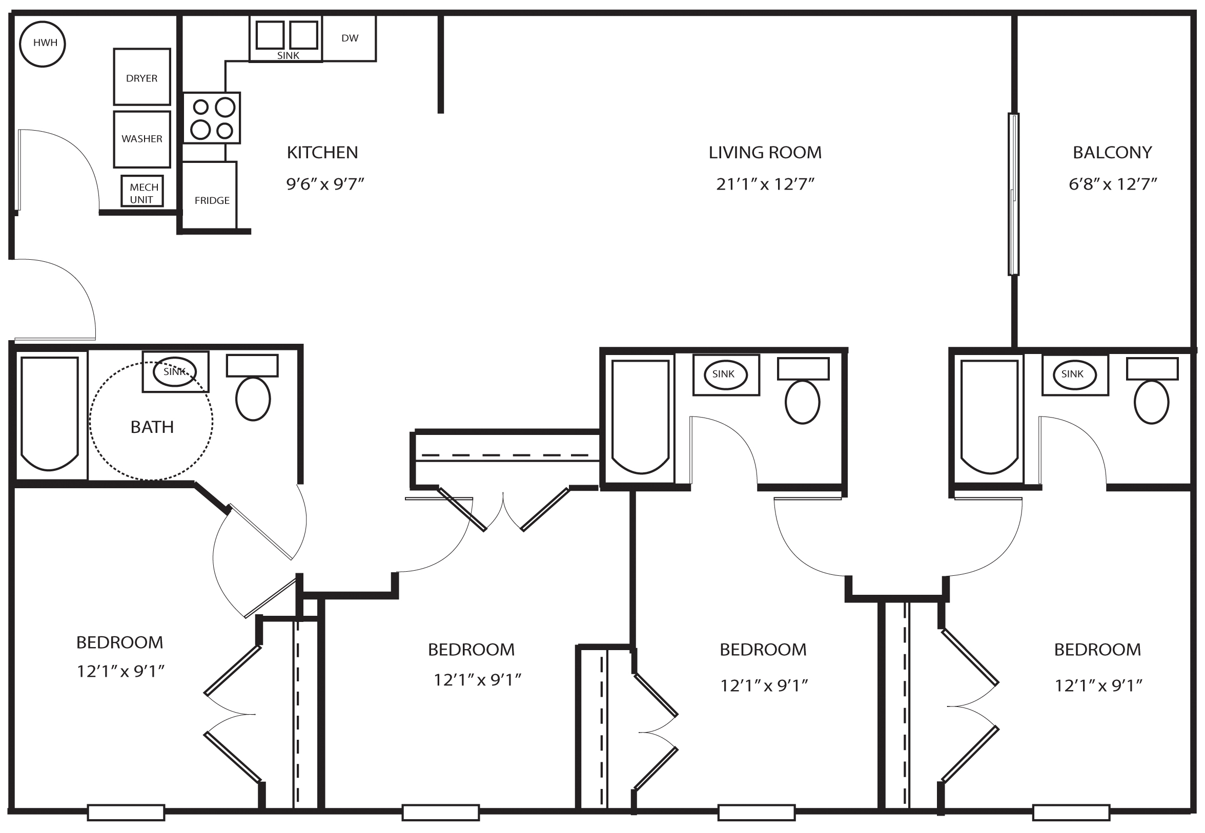 Ada floor plans thefloors co for Ada home floor plans
