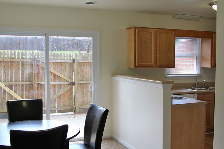 2 BR Townhome Dining Room
